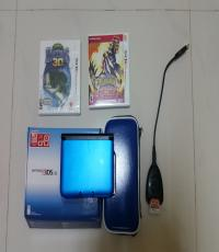 GameTrader SG - 3DS XL Blue / Omega Ruby / Action Replay